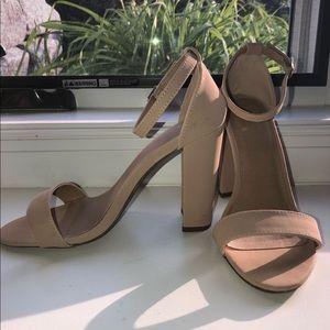 Charlotte Russe Nude Heels
